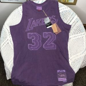 Washed Out Swingman Jersey Los Angeles Lakers